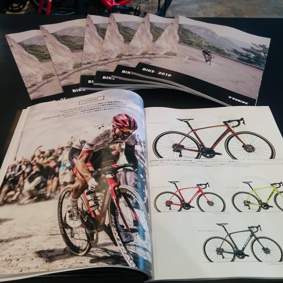 2019年モデル TREK(トレック)のバイクカタログが届きました!!