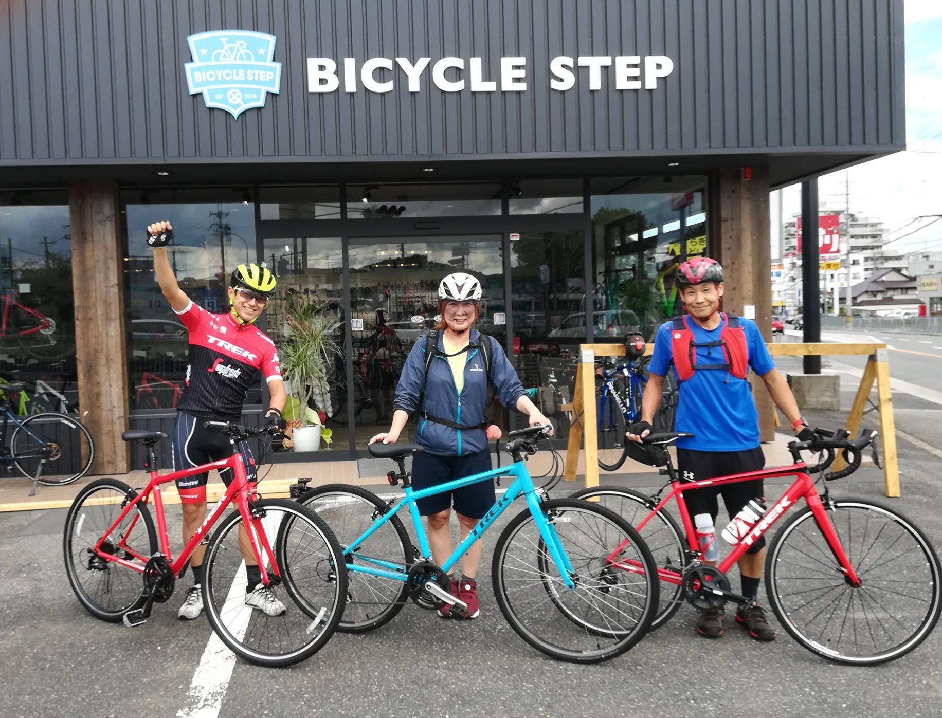 本日は、初心者でも参加できるスポーツ自転車の基礎の講習会を開催しました!