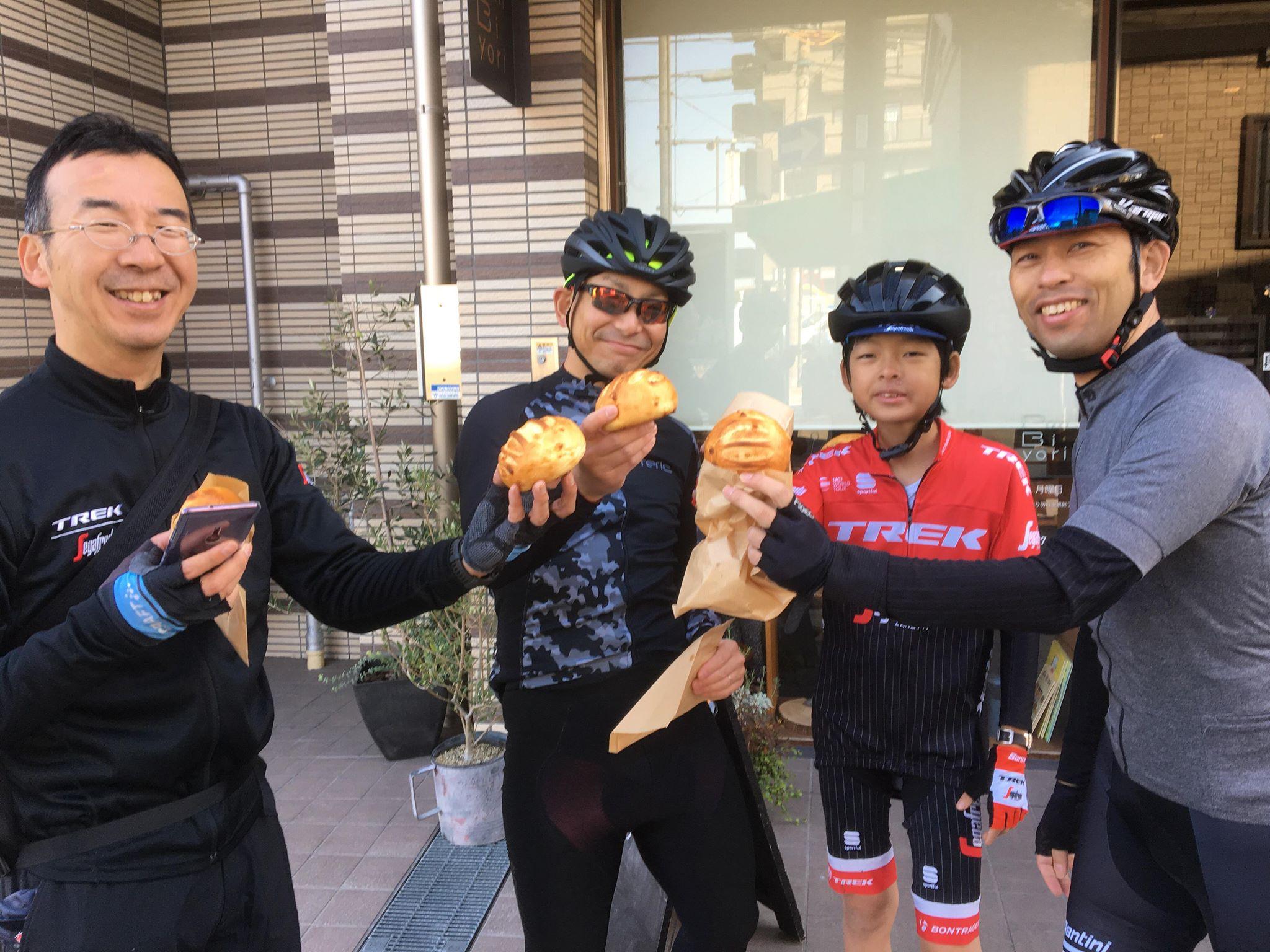 第二回 chari-pan!(チャリパン)ライドラリー 勝敗の行方は!?