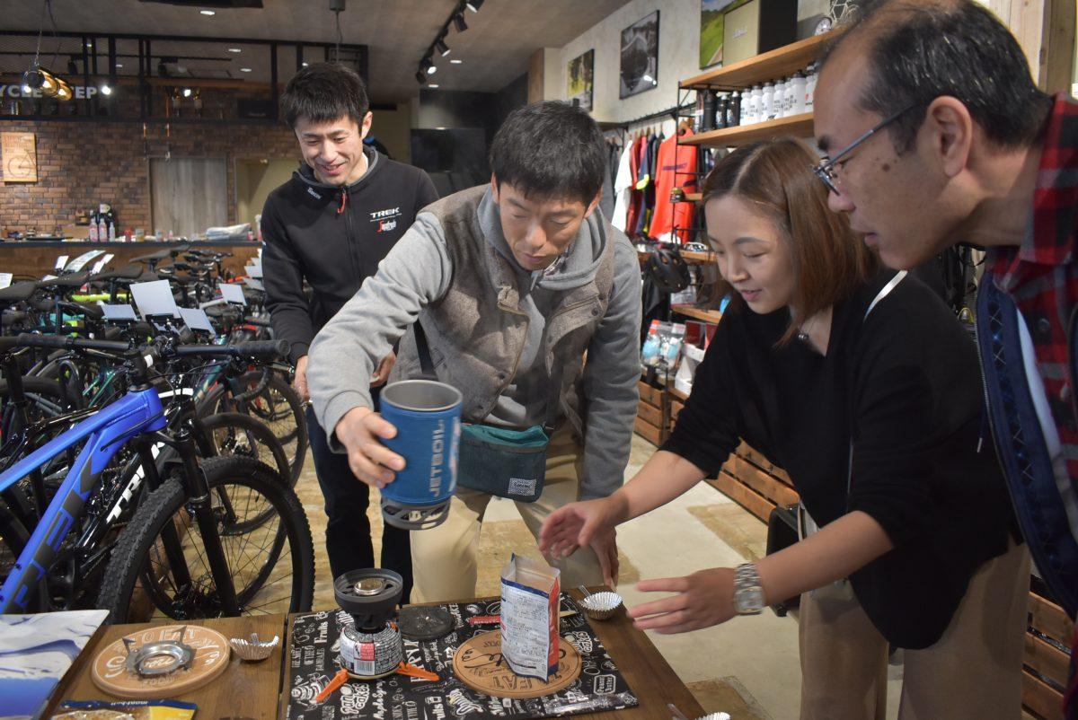 自転車×防災 自転車とキャンプ力で災害に備えよう!!
